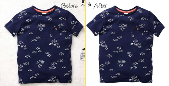 clipping path for t-shirt