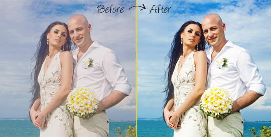 Color Correction services for photographers
